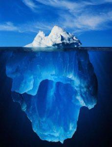 le decodage de l'inconscient permet de comprendre la partie immergée de l'iceberg en soi